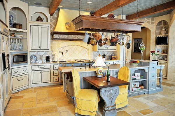 interior-design-ideas-french-kitchen design Mediterraner Stil