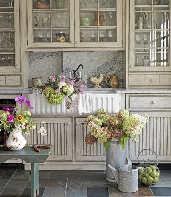 interior design ideas shabby chic kitchen decor ideas
