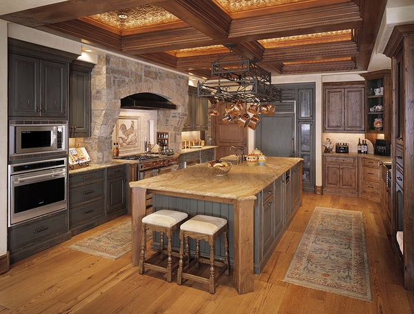 interior design ideas tuscany kitchen decor ideas ceiling beams