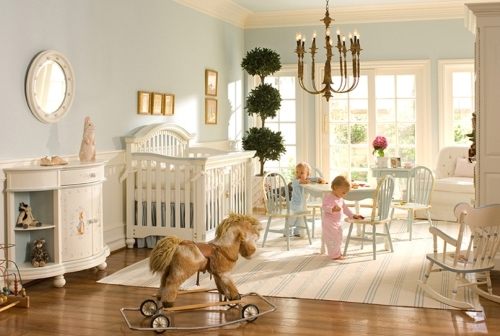 durniture ideas for luxury baby room decoration rocking horse