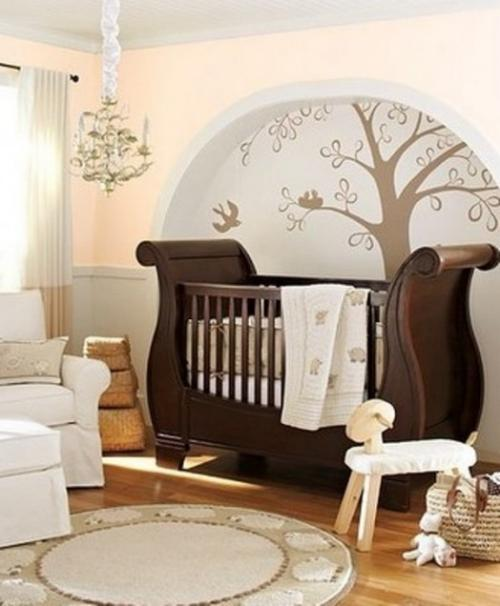 ideas for luxury baby decoration wooden crib