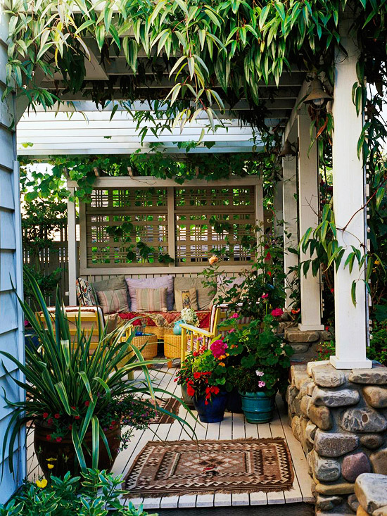 13 patio blinds ideas for your privacy in the garden