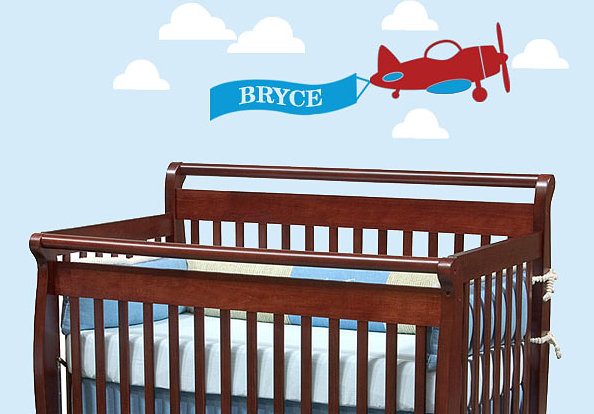 Wall Decals Boy airplane