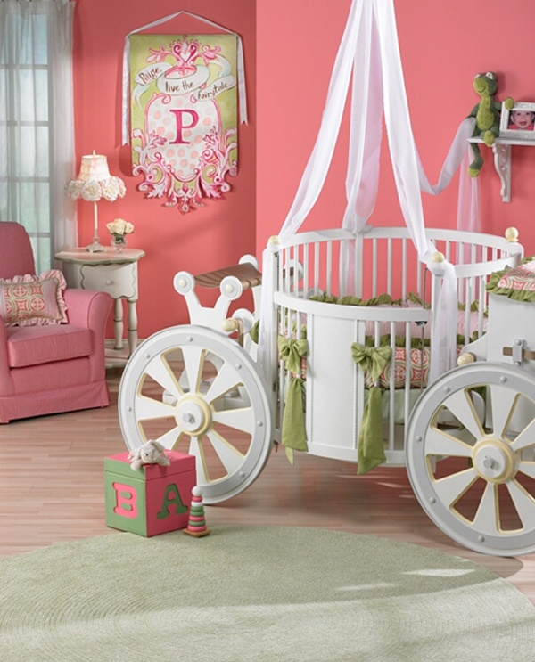 unique kids room ideas girl coach baby bed princess