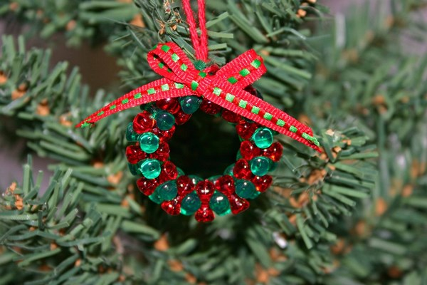 easy crafts ideas christmas wreath decorating ideas