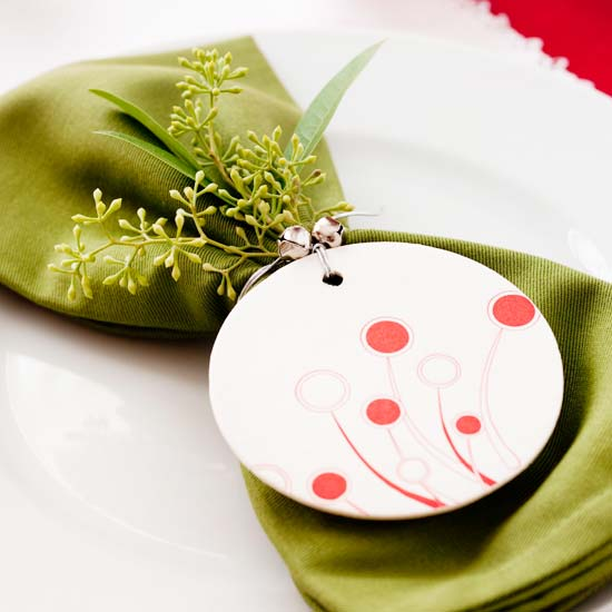 DIY table setting decorating ideas place cards