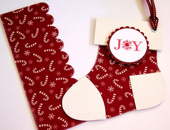 easy christmas crafts ideas candy cane paper red white