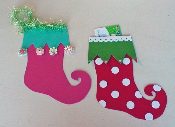 ideas easy to make stockings paper