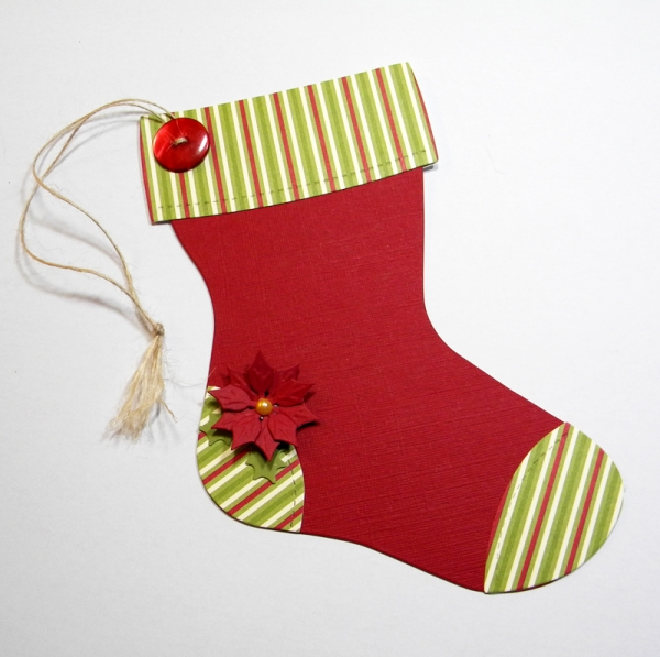 easy to craft traditional stocking-gift-card-holder-deas