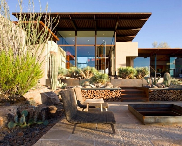 Front door ideas modern house entrance stone paths