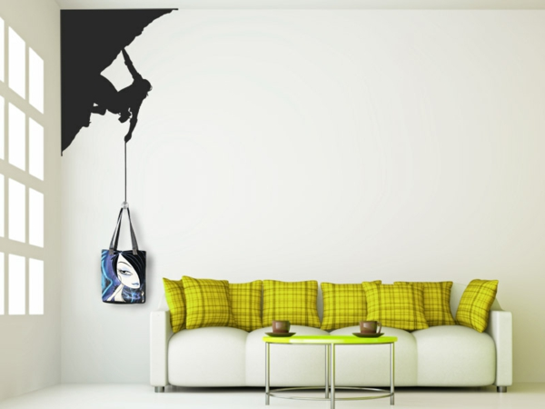 Living room sweet decorating ideas wall