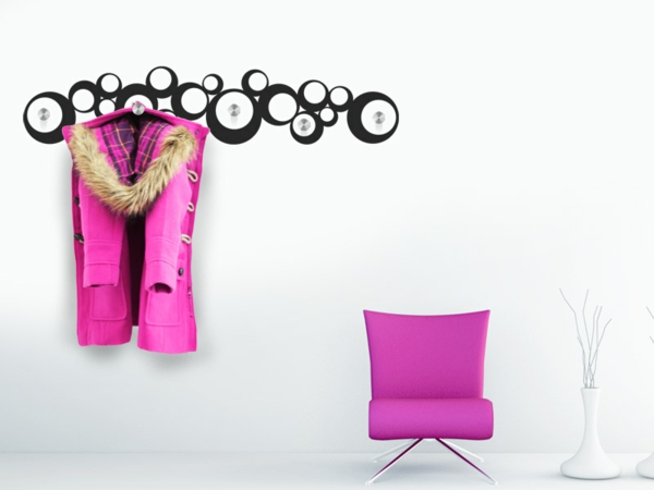 Sweet teen room wall decoration pink color