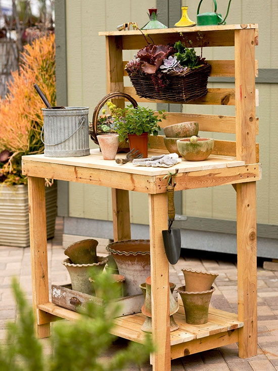 wooden pallets furniture table