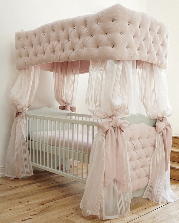 amazing cot four poster crib tufted poster curtains