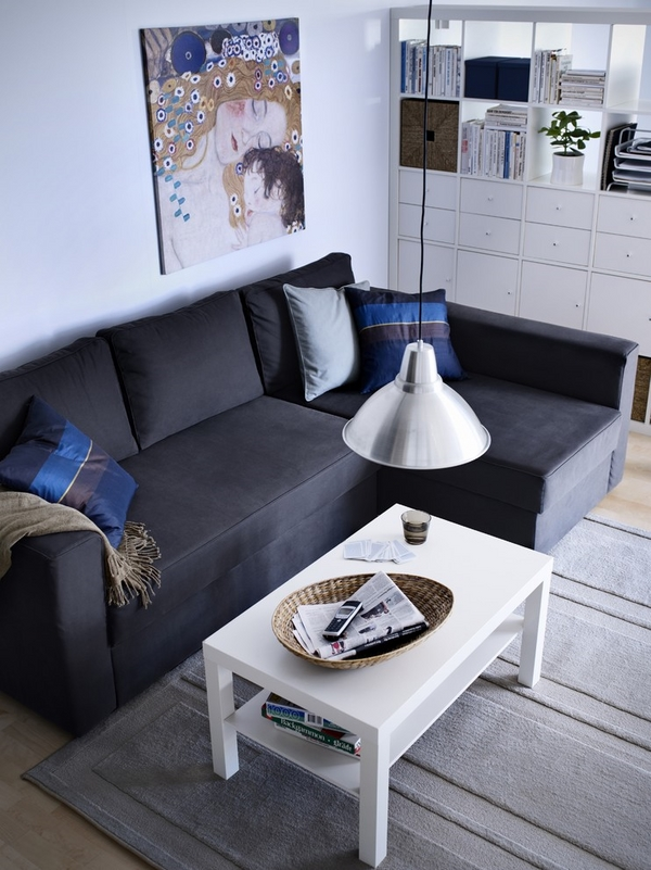 small sectional sofa white coffee table small living room furniture ideas