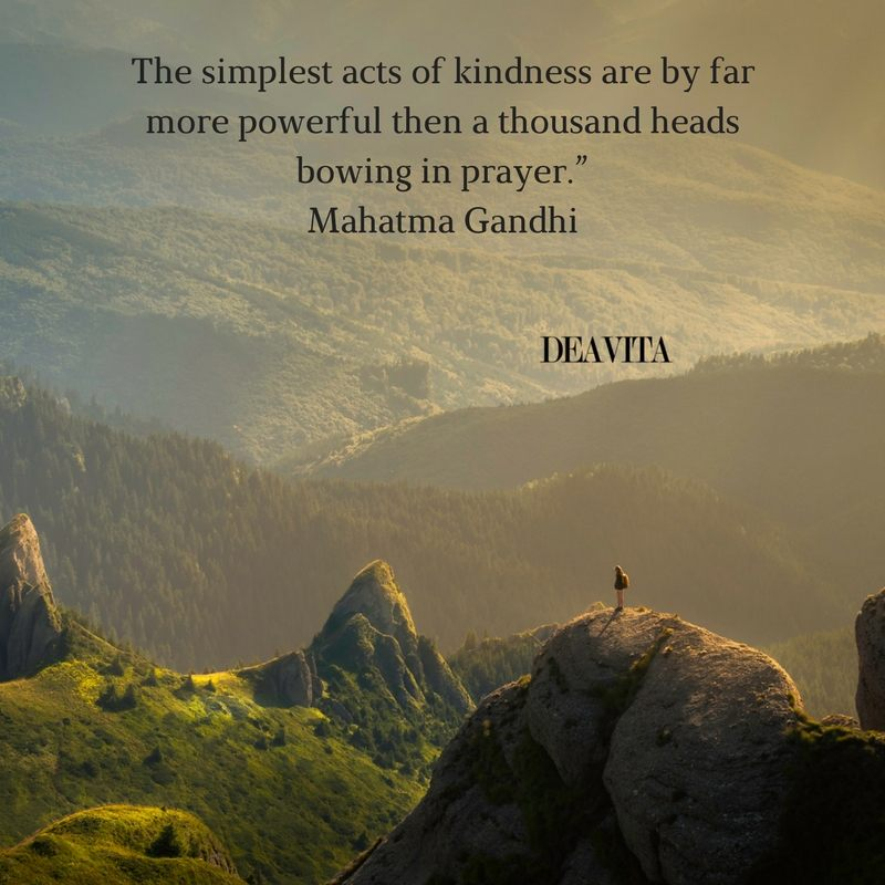 quotes and sayings The simplest acts of kindness