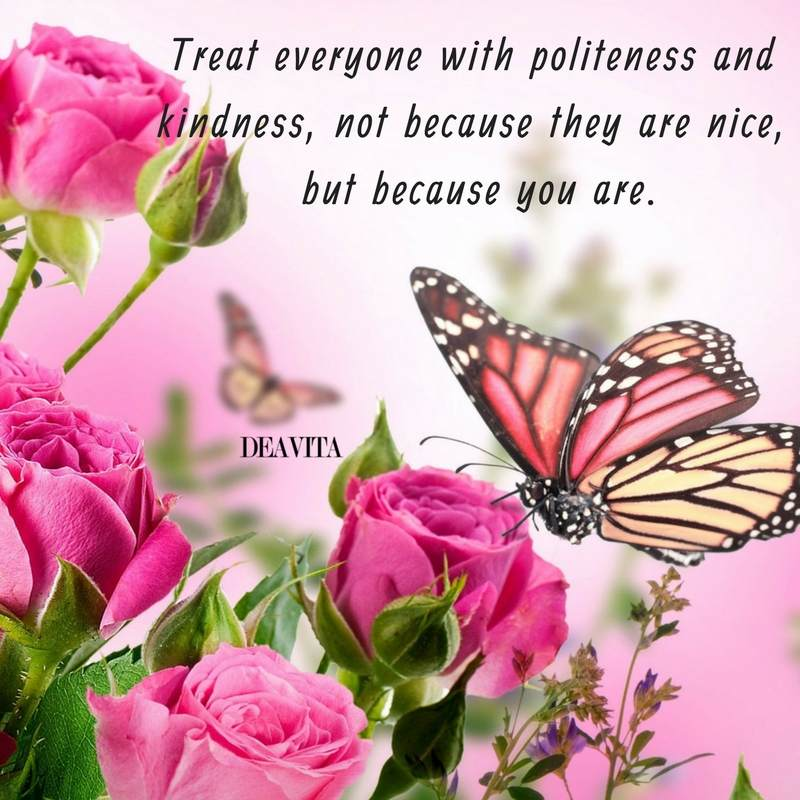 kindness and politeness sayings and quotes