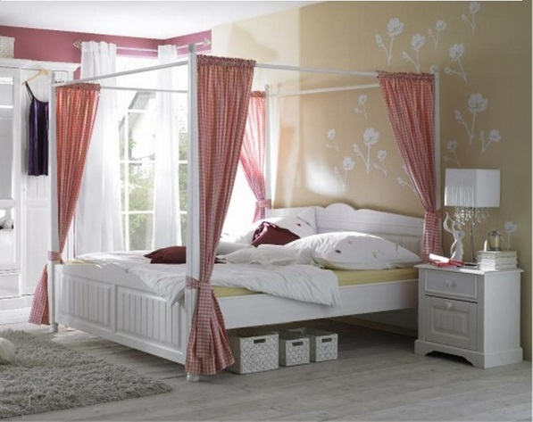 white furniture ideas pink accents