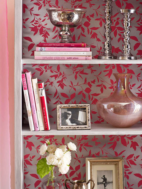 creative ideas for wallpaper leftovers chest