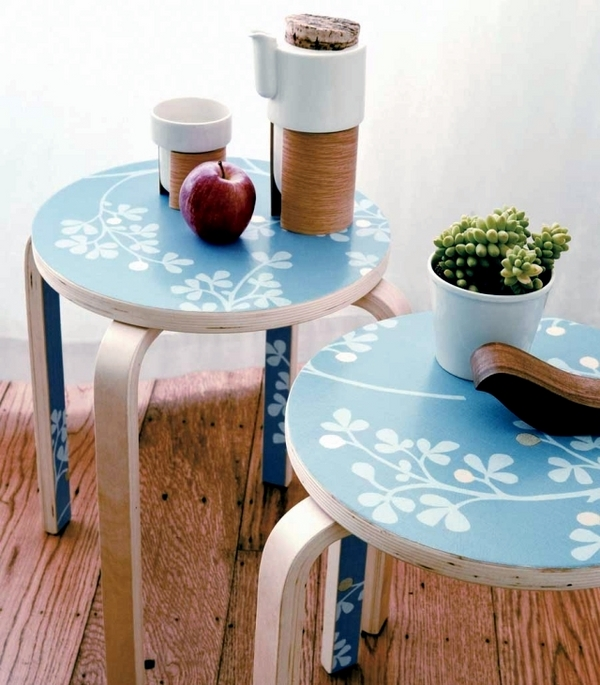 cute side tables old furniture ideas