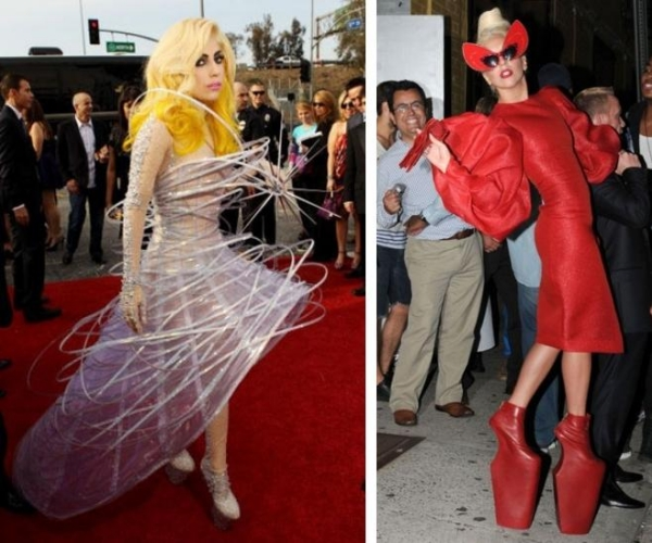 Gaga outfits eccentric fashion pieces Halloween Horror Party Ideas
