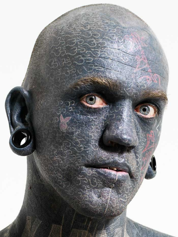 Lucky rich on most tattooed man the world ideas make-up