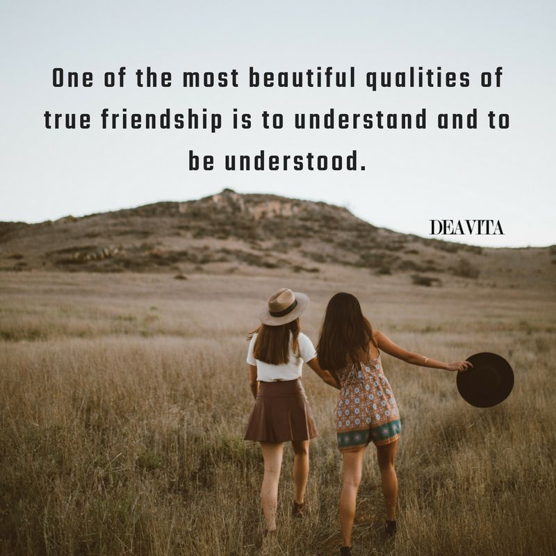 true friendship attitude and understanding sayings