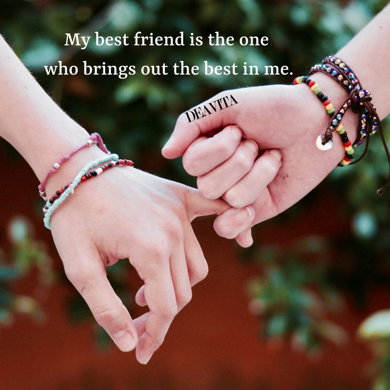 short inspirational quotes about best friends