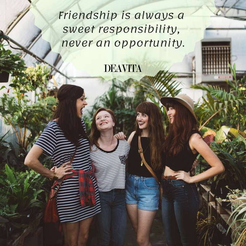 Friendship responsibility attitude quotes