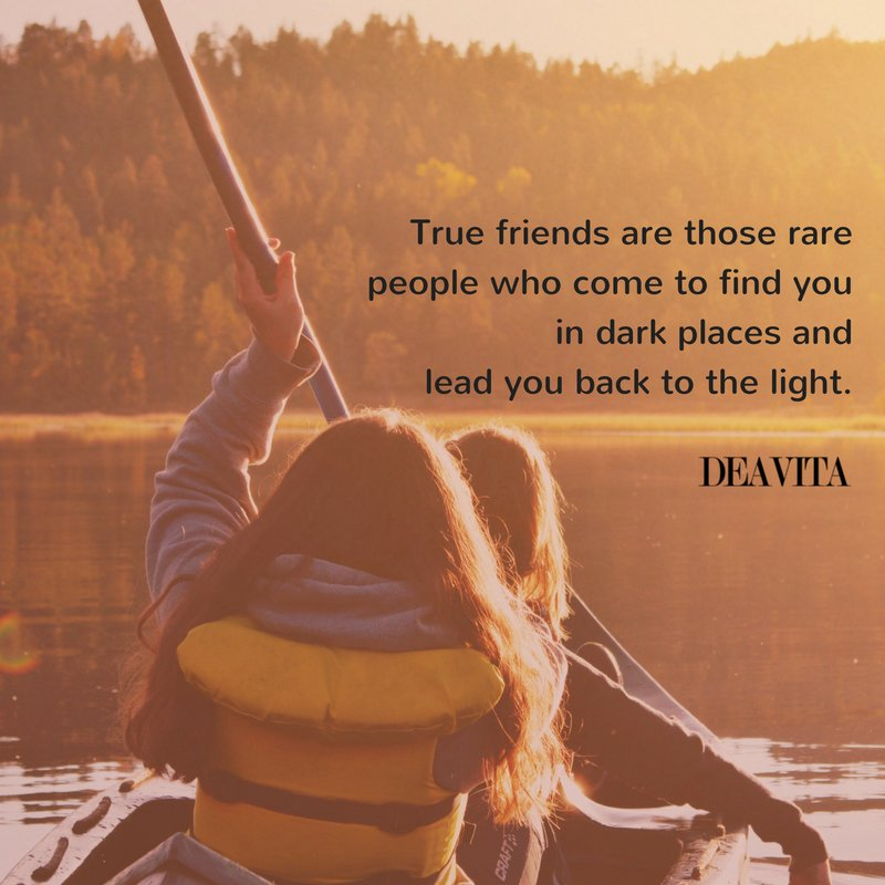 best short and deep lines and sayings about true friends