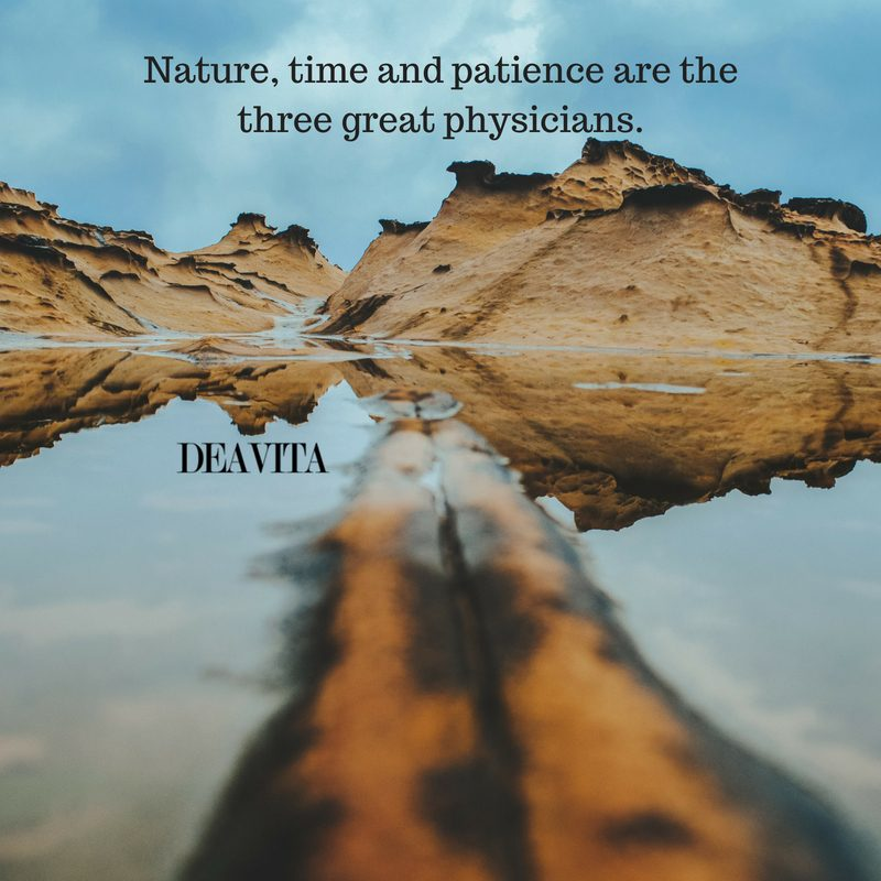 Nature time and patience sayings and inspirational quotes