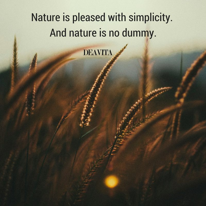 Nature and simplicity beautiful photos and wise quotes