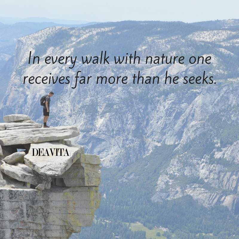 deep and wise quotes about nature and human life