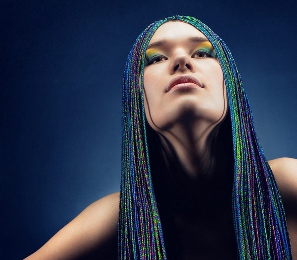 colorful african braids summer hairstyles ideas