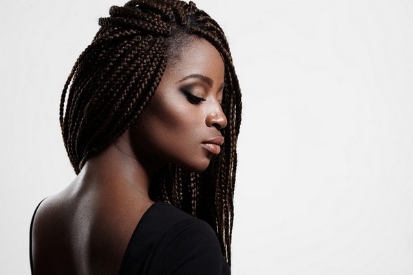 gorgeous micro braids long hairstyles african