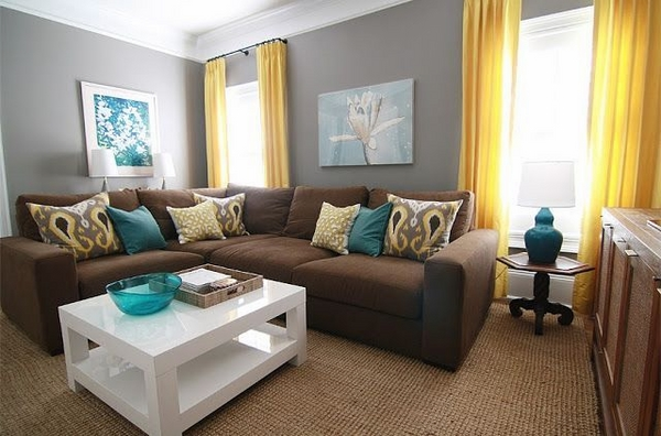 small living room design ideas small sofa white coffee table