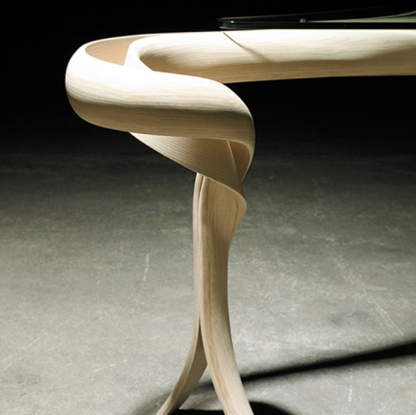 furniture enignum dining table detail