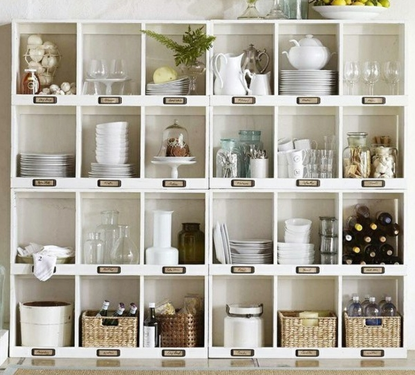 Storage solutions for the kitchen pantry - organizers and shelf ideas