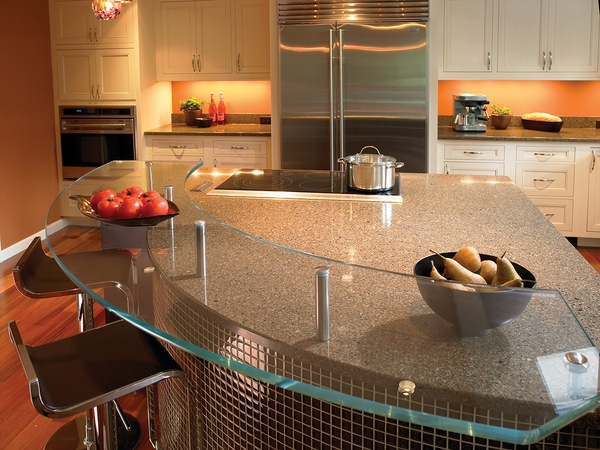 cambria quartz countertops contemporary kitchen design glass breakfast bar