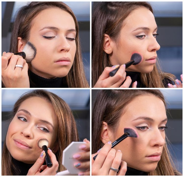 Coole Party Make-up Ideen – Nude Soft Cut Crease und Pink Lips Tutorial