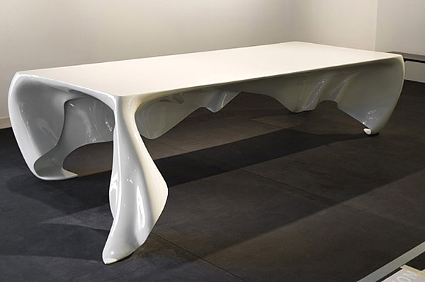 Esstisch-Design-Floating Phantomtisch