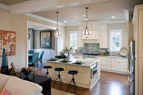 kitchen remodel ideas granite countertops white cabinets kitchen island