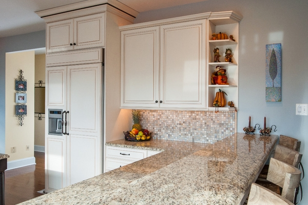 kitchen countertops granite white cabinets