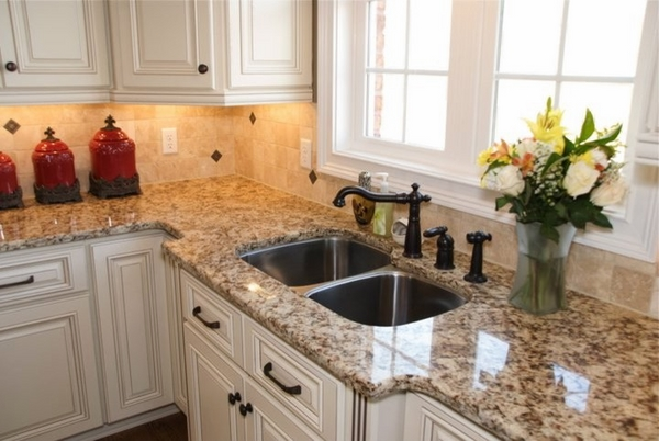 countertops white kitchen cabinets