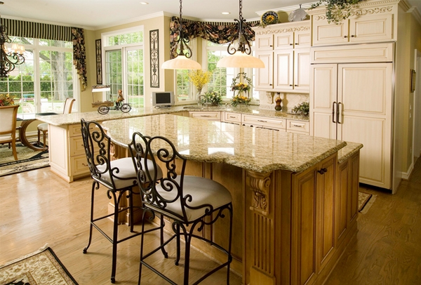 awesome granite countertop ideas rustic kitchen