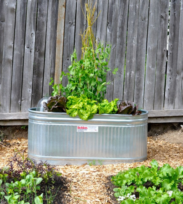 metal box ideas for do it yourself flower pots
