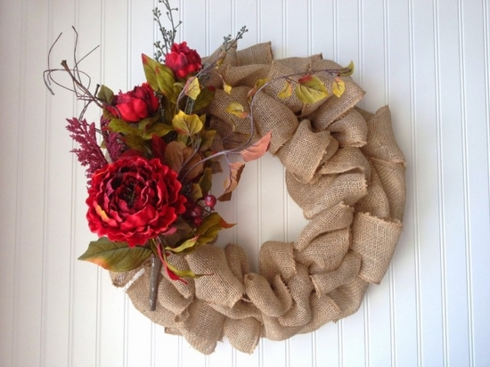 rustic decor flowers branches