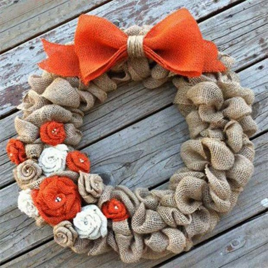 thanksgiving wreaths rustic home decoration