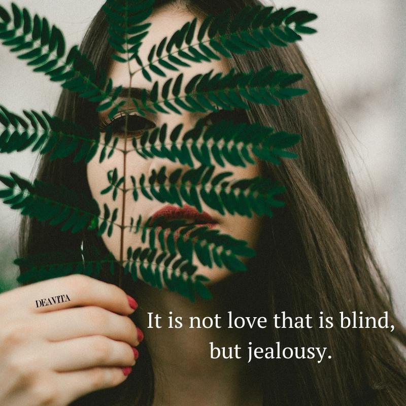 Short quotes about love and jealousy