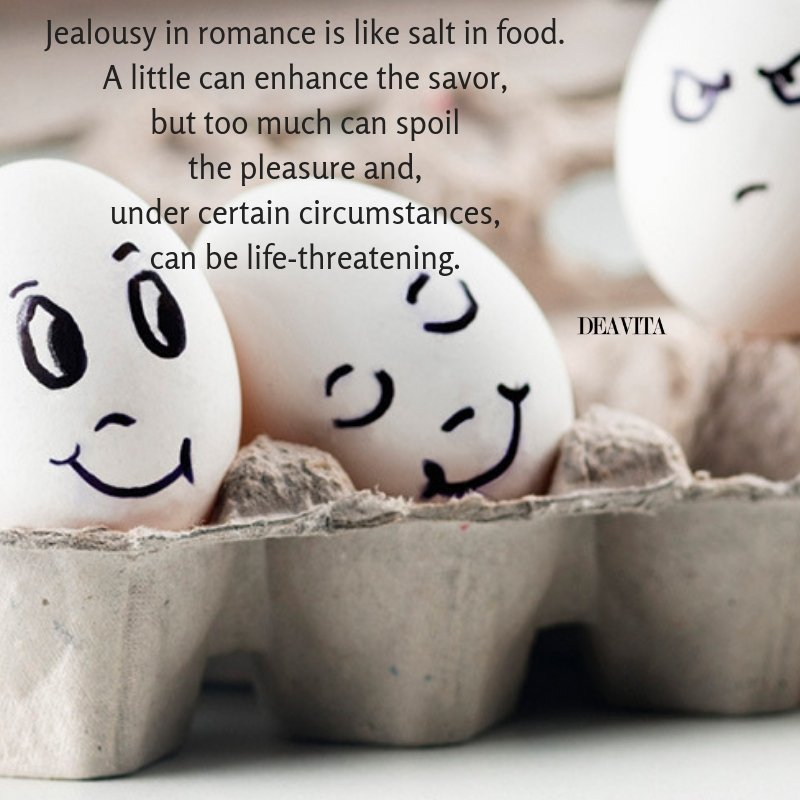 Jealousy in romance quotes and wise thoughts